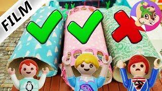 Playmobil Rodzina Wróblewskich   Challenge Wybierz dobry tunel w domu Wróblewskich