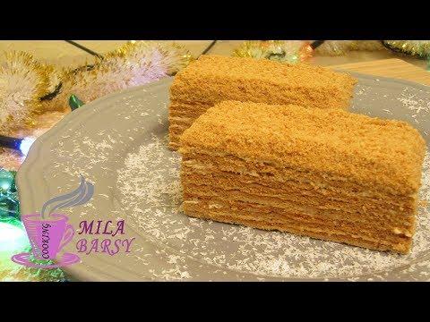 Медовый торт 🎄 Новогодний рецепт 🌲 Մեղրով տորթ 🎄 Honey Cake 🎄 Медовик