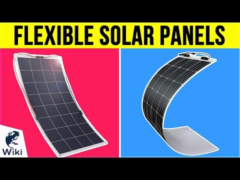 10 Best Flexible Solar Panels 2019