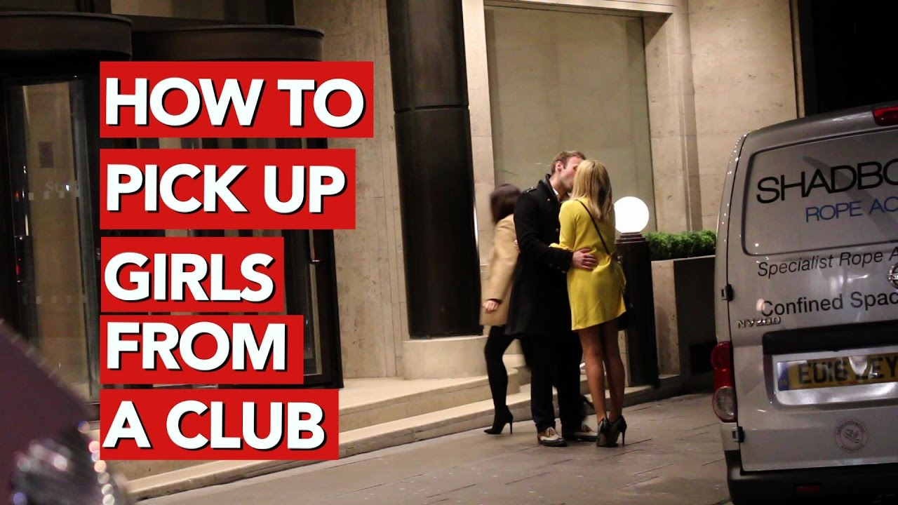How to pick up girls in the club