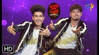 Jatin Performance   Dhee Champions   18th September 2019      ETV Telugu