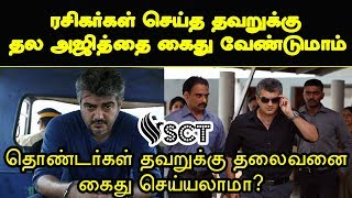 Reply To Political People Who Ask to File FIR against Our Thala | Viswasam