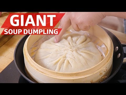 Cliff Attempts the Giant Soup Dumpling — You Can Do This!