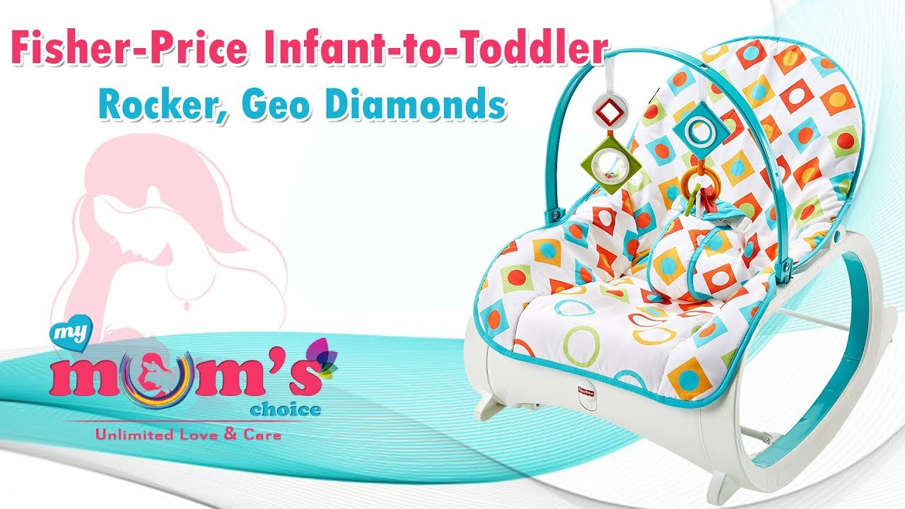 Fisher Price Infant To Toddler Rocker, Geo Diamonds | Best Newborn To Toddler  Rocker | Mymumschoice