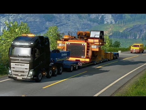 HAUL TRUCK OVERSIZE LOAD - Special Transport DLC First Look