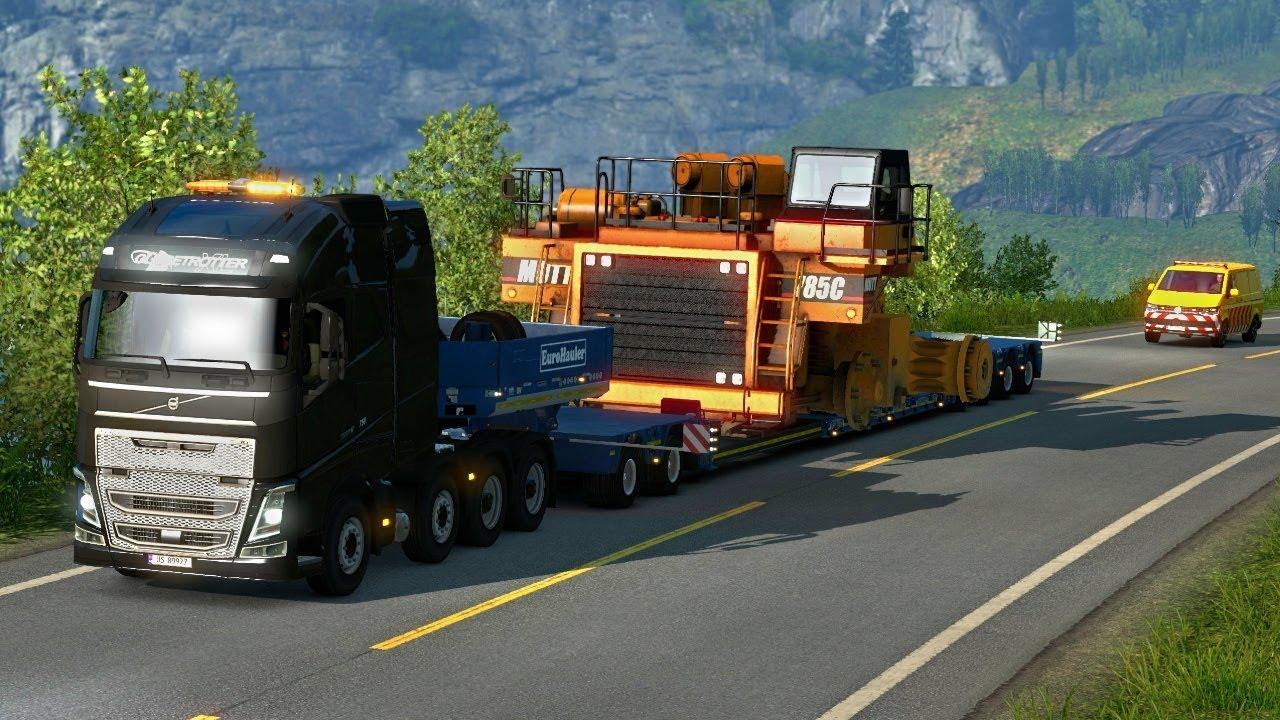 haul truck oversize load special transport dlc first. Black Bedroom Furniture Sets. Home Design Ideas