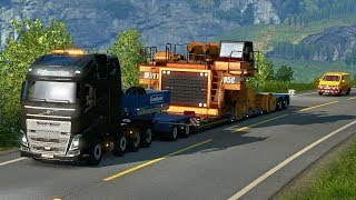 HAUL TRUCK OVERSIZE LOAD - Special Transport DLC First Look | Euro Truck Simulator 2