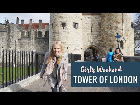 Girls weekend in Magical London - Tower of London | First Travel WITHOUT Baby