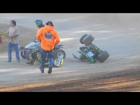 9/24/16 needt hamlin speedway  tiger crash