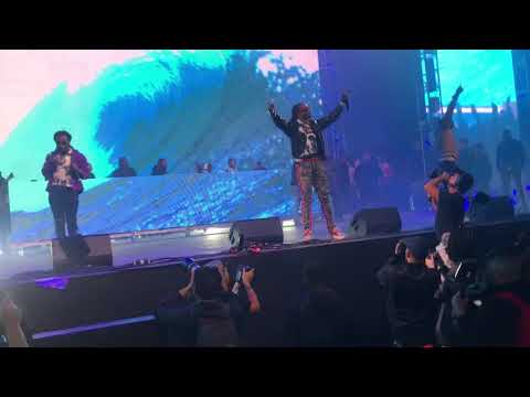 "Migos ""Slippery"" With Gucci Mane Live @ Rolling Loud 2017"