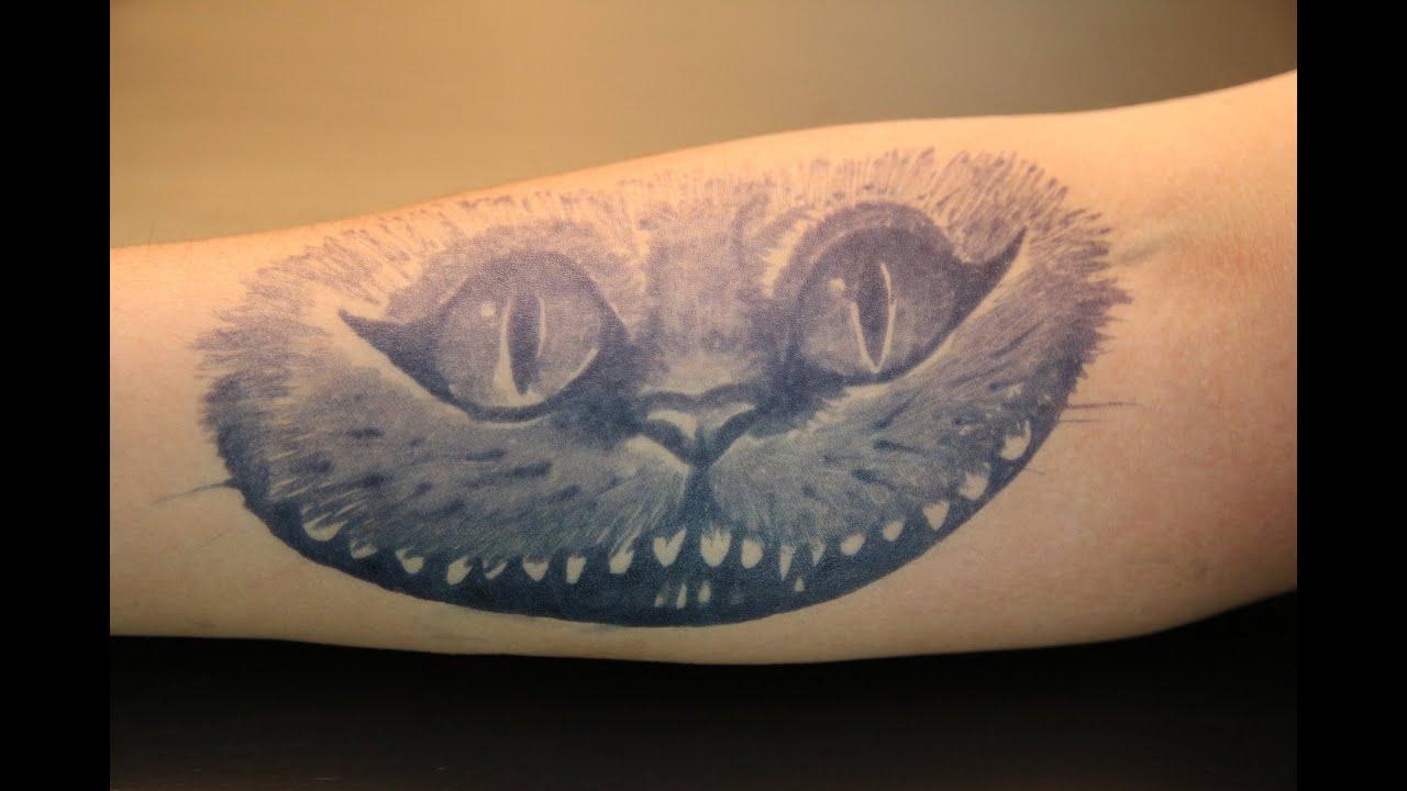 MY HENNA - Alice im Wunderland | Grinse-Katze - YouTube - Tattoo Alice Im Wunderland
