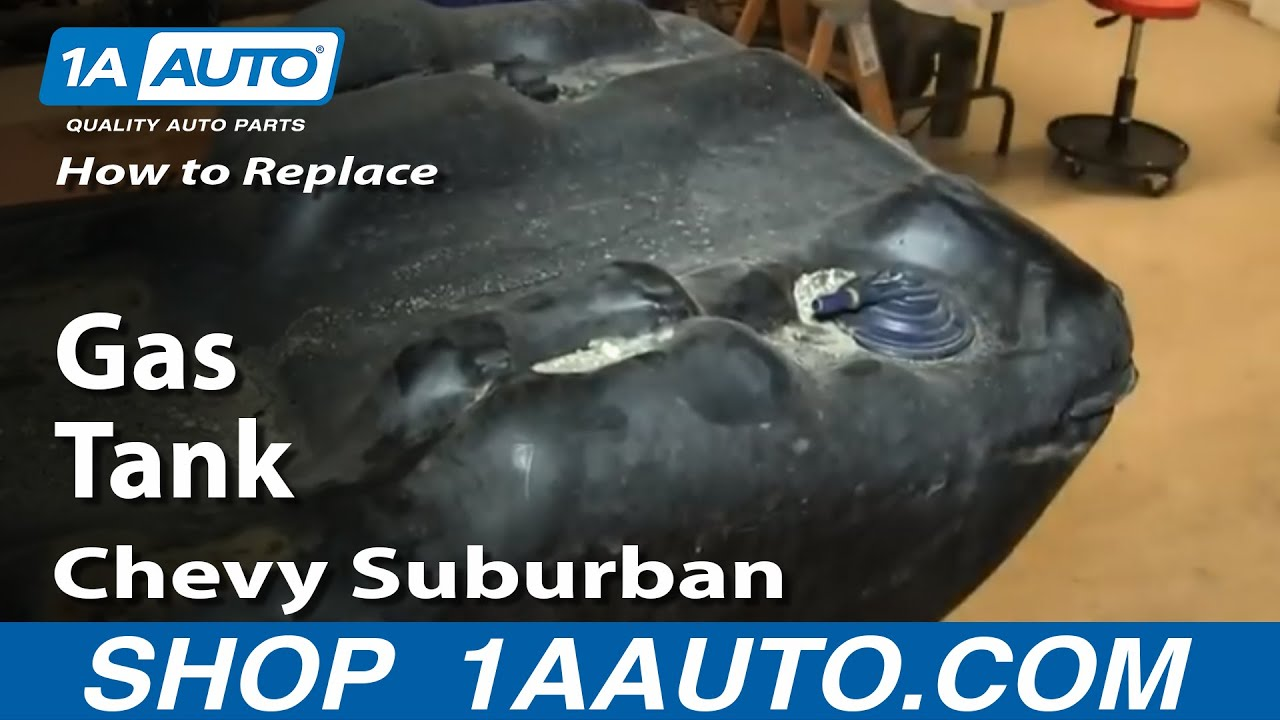 How To Install Remove Fuel Gas Tank 06 Suburban Yukon
