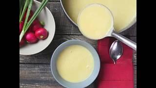 Суп-пюре из кабачков | Рецепт овощного супа-пюре