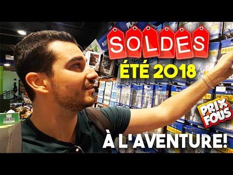 LES SOLDES D'ÉTÉ JEUX VIDÉO 2018 [L'AVENTURE!] - UNE CONSOLE COLLECTOR À -70%, PS4, 3DS, ONE!