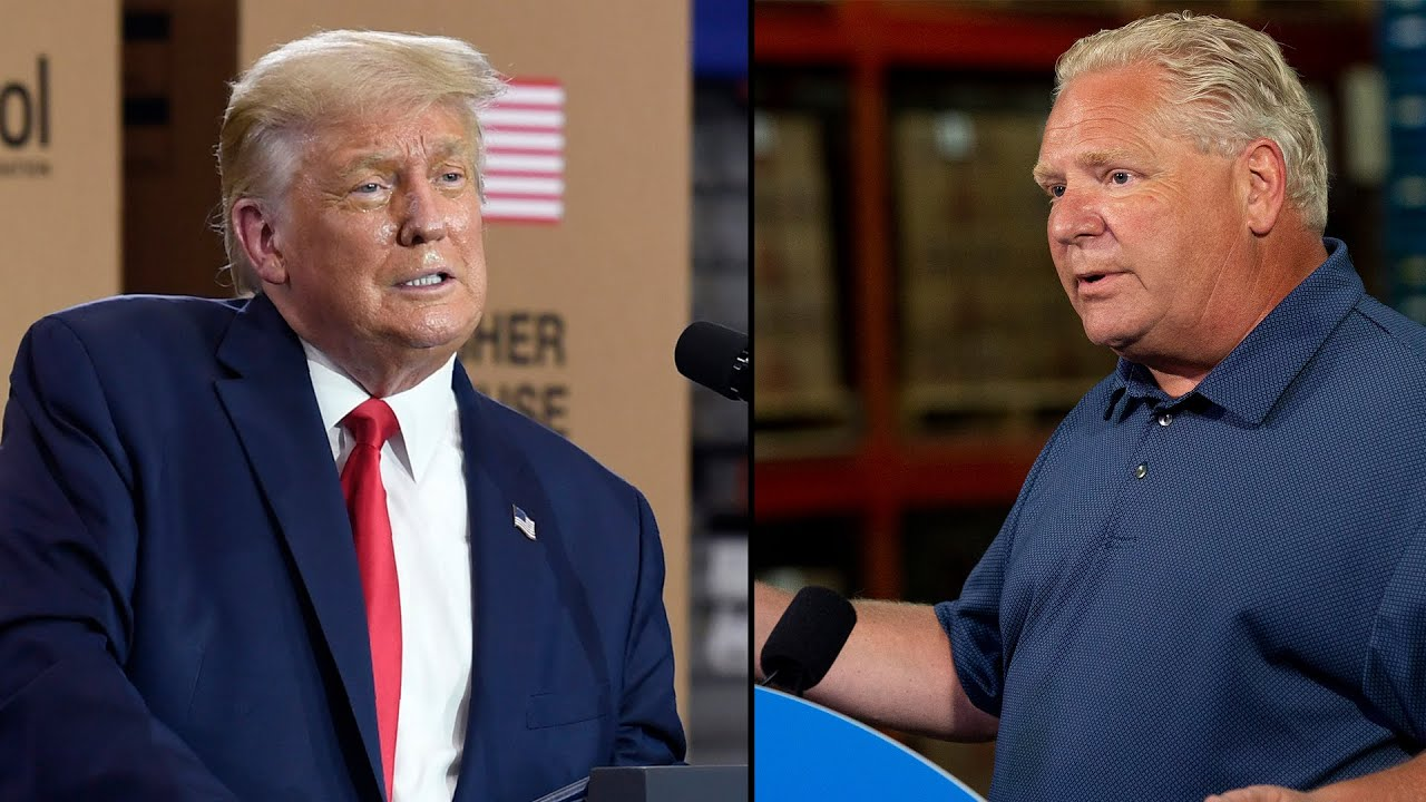 """""""Who would do this? Oh, President Trump"""": Doug Ford tears into U.S. administration over new tariffs"""