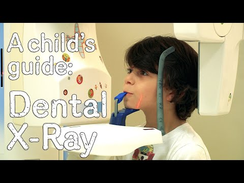 A child's guide to hospital: Dental X-ray