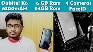 Oukitel K6  Unboxing And First Look !