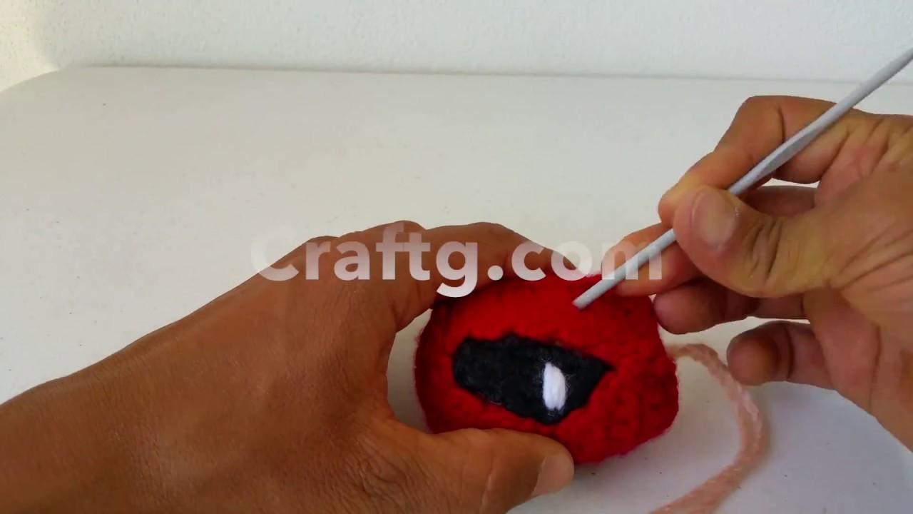 Amigurumi Deadpool by Amigurumi Torino | Crochet patterns, Crochet ... | 720x1280