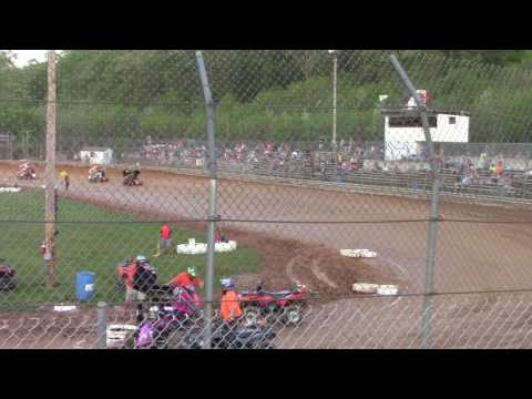 Clyde Martin Memorial Speedway 600cc Heat Race 4-29-17