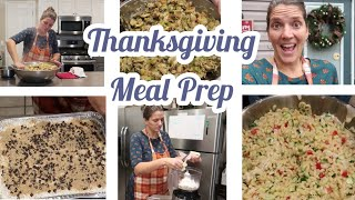 THANKSGIVING MEAL PREP |  MY TIPS to HELP YOU MAKE THIS YEAR EASIER #beendoingfor25years