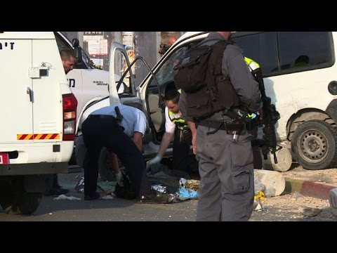 Palestinian car attack injures 2 in West Bank, driver killed
