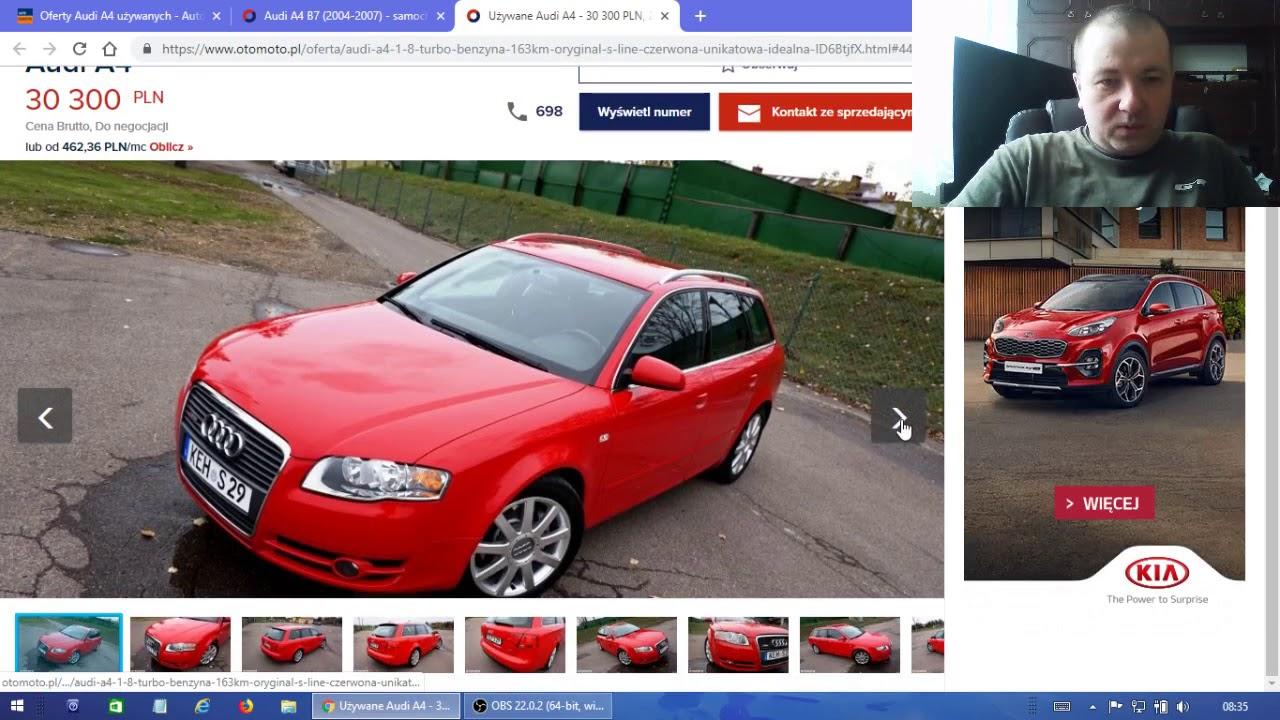 Ile Kosztują Najtańsze Audi A4 B7 I Jaki Mają Przebieg Kupujemy