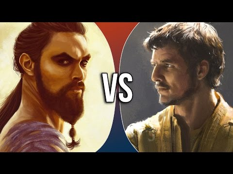 VS Shorts | Khal Drogo vs Oberyn Martell