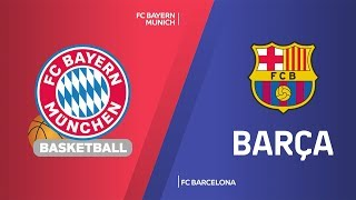 Fc barcelona got its fourth straight win by beating bayern munich 67-77 at audi dome on friday night, to take a tie for first place 12-3. droppe...