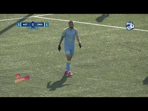 FC Astana Ordabasy Goals And Highlights