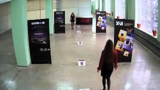 Тестовая видеозапись с IP камер XVI серии 52xx  5Mp