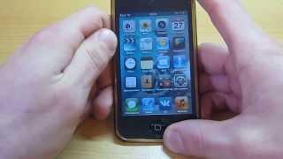 Как вылечить кнопку Home на iphone, ipod ...