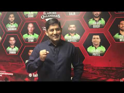 Syed Yahya Hussaini: LAHORE QALANDARS.| Yahya Hussaini |