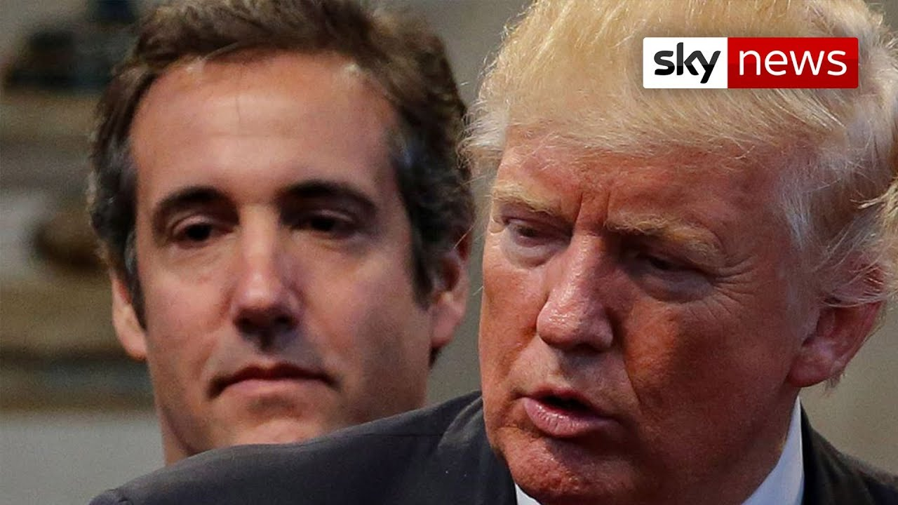 United States President Donald Trump's former lawyer Michael Cohen pleads guilty