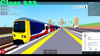 Roblox Mind the Gap All new trains departs p.6 (recorded: 5.02.18r.)