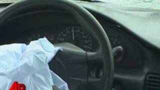 Boy Crashes Car During Joy Ride
