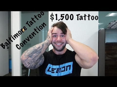 $1,500 TATTOO - BALTIMORE TATTOO CONVENTION