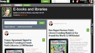 A guide to Scoop.it and other tools for curating content - Social Media for Creative Libraries