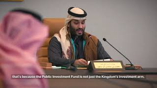 Public Investment Fund Strategy | استراتيجية صندوق...