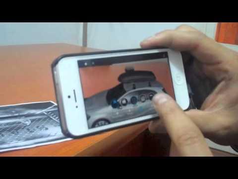 Benz - Augmented Reality - Spinzomedia LLC Demo