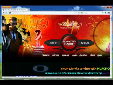 Mua Báu Vật CF tại Shop báu vật CF : MUACF.COM