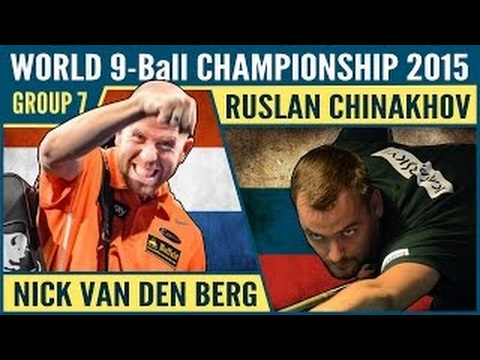 Ruslan Chinakhov vs Nick Van Den Berg | 2015 World 9-ball Pool Championship Group 7