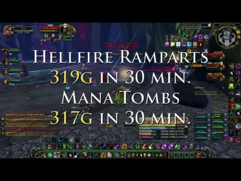 How To Easily Make Gold Farming BC Instances Power Leveling In The World Of Warcraft!