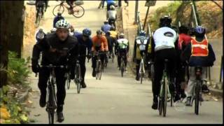 Pittsburgh Dirty Dozen hill climb bike ride and race (in HD)