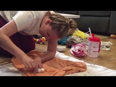 How to remove pen ink from clothes  | YES! This worked so well!