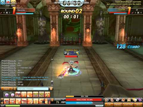 Dragon Saga PvP 79 Overlord vs 75 Dragoon.