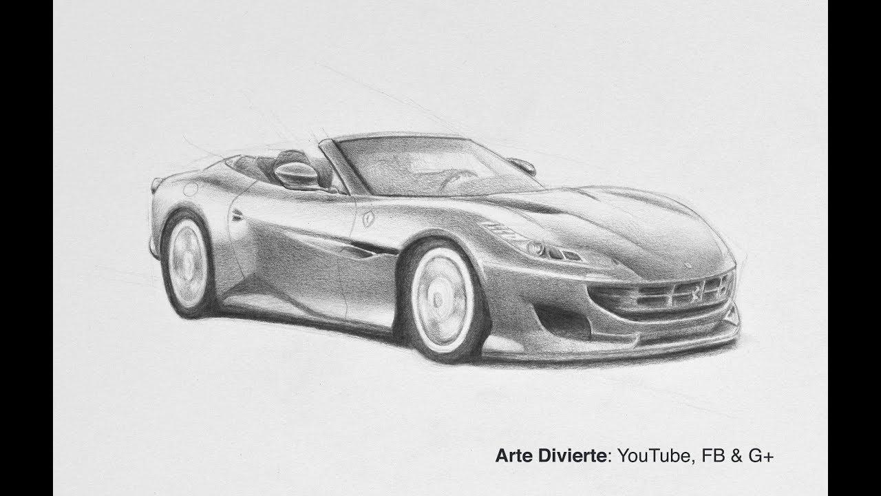Cómo Dibujar El Ferrari Portofino