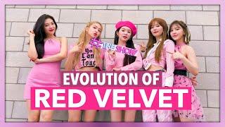 THE EVOLUTION OF RED VELVET (레드벨벳) | 2014 - 2019