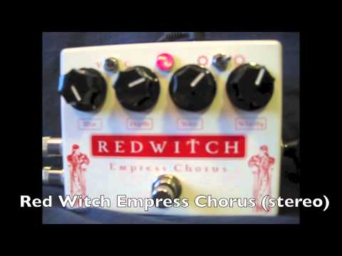 Red Witch Chorus Tone Test/walkthrough/ Knob Twiddle (Clean Stereo)