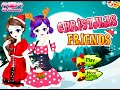 Christmas Friends- Fun Online Dress Up Fashion Games for Girls Teens