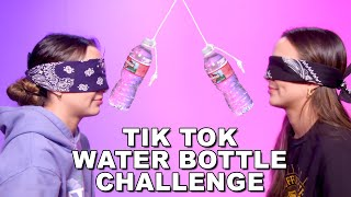 TikTok Water Bottle Challenge with MYSTERY ITEMS - Merrell Twins